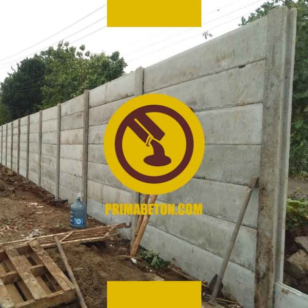 Harga Pagar Panel Beton Kolom Precast