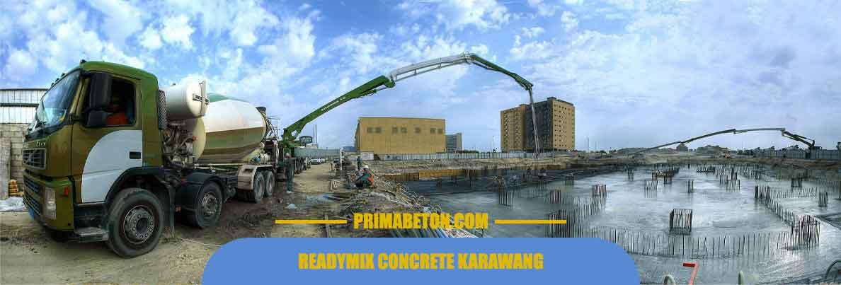 Harga Ready Mix Karawang Beton Cor