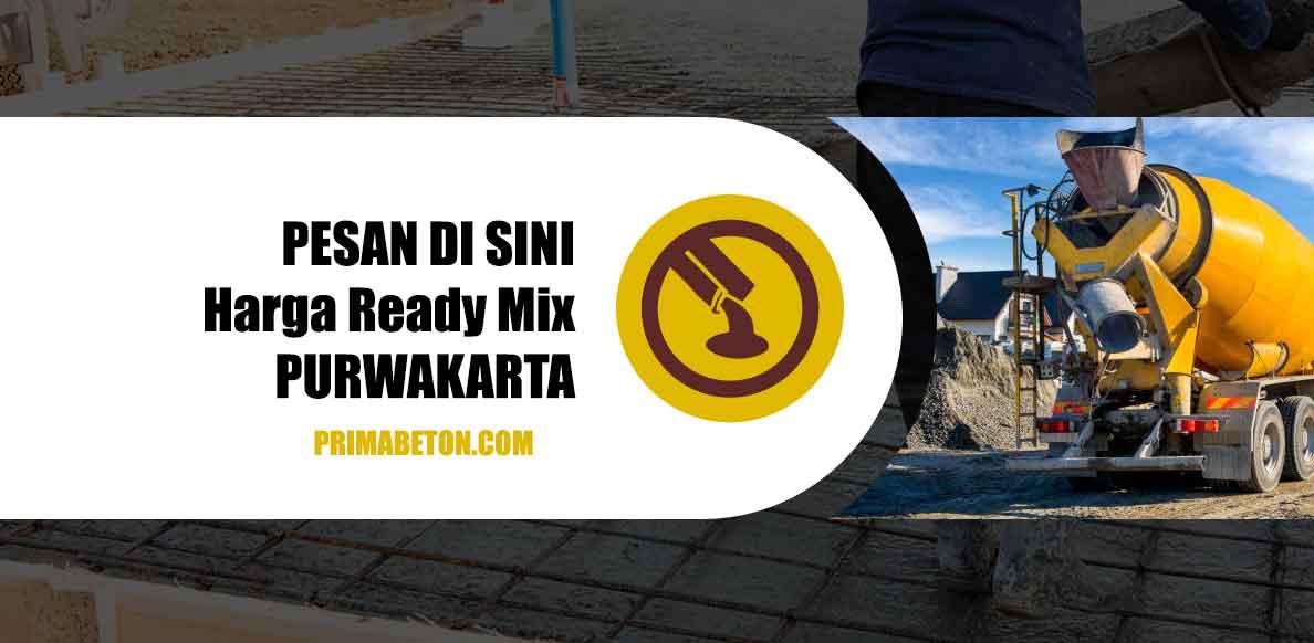 Harga Ready Mix Purwakarta Beton Cor