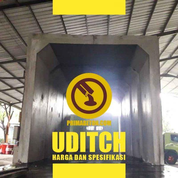 Harga U Ditch dan Spesifikasi