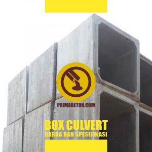 Harga Box Culvert dan Spesifikasi
