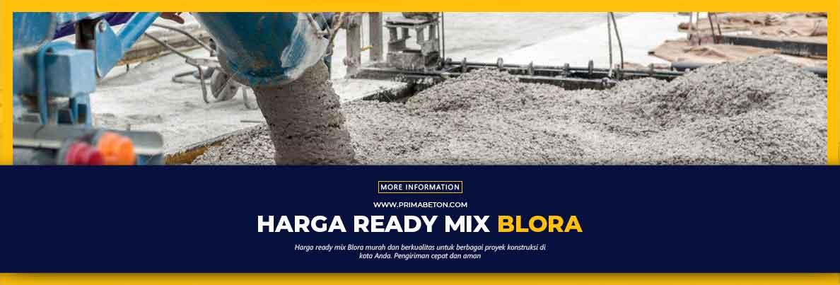 Harga Ready Mix Blora Beton Cor