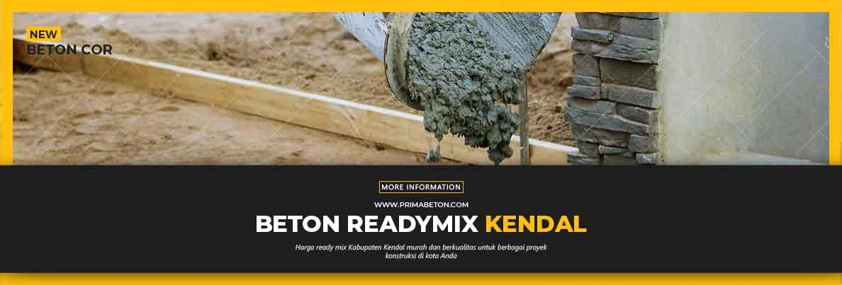 Harga Ready Mix Kendal Beton Cor