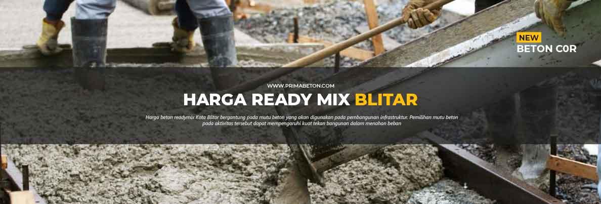Harga Ready Mix Blitar Beton Cor