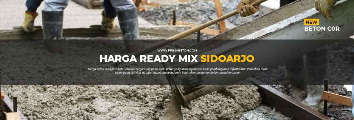 Harga Ready Mix Sidoarjo Beton Cor