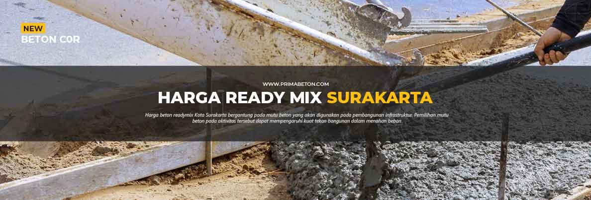 Harga Ready Mix Surakarta Beton Cor