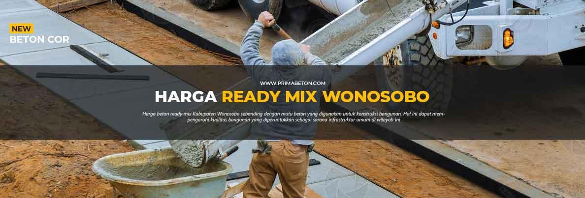Harga Ready Mix Wonosobo Beton Cor