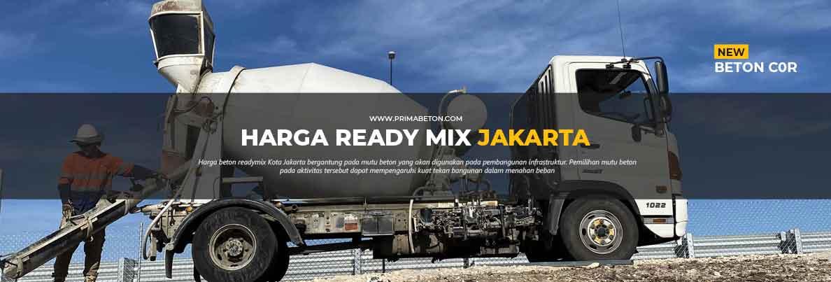 Harga Ready Mix Jakarta