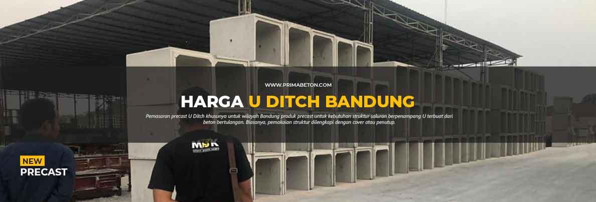 Harga U Ditch Bandung
